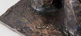 Dettaglio scultura in bronzo © lauramengani