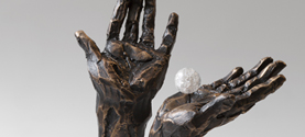 Scultura in bronzo © lauramengani