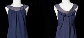 abito in seta e lana merino. © lauramengani