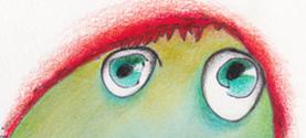 OMINI BUFFI ... disegnati dai bimbi e colorati da me, colori vegetali, matite colorate ©lauramengani